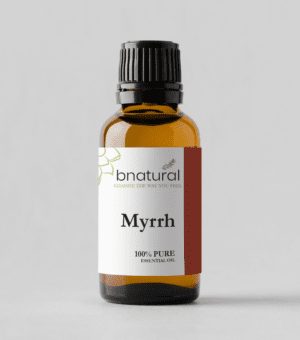 bnatural myrrh essential oil
