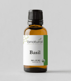 bnatural basil essential oil