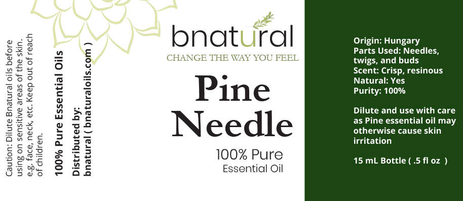 bnatural pine needle essential oil