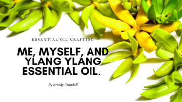Me, Myself, and Ylang Ylang Essential Oil